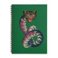 Snake-Cat - spiral-notebook - small view