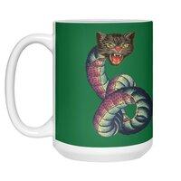 Snake-Cat - white-mug - small view