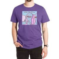 STRANGE PLANET SPECIAL PRODUCT: HOPING FOR SNACKS - mens-extra-soft-tee - small view