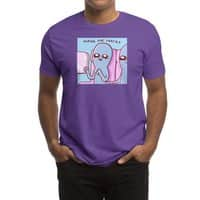 STRANGE PLANET SPECIAL PRODUCT: HOPING FOR SNACKS - mens-regular-tee - small view