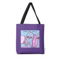 STRANGE PLANET SPECIAL PRODUCT: HOPING FOR SNACKS - tote-bag - small view