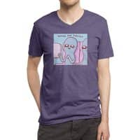 STRANGE PLANET SPECIAL PRODUCT: HOPING FOR SNACKS - vneck - small view