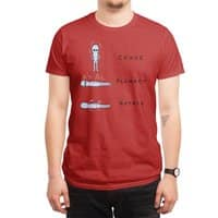 STRANGE PLANET SPECIAL PRODUCT: CEASE PLUMMET ROTATE - mens-regular-tee - small view