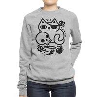 Badass Cat - crew-sweatshirt - small view
