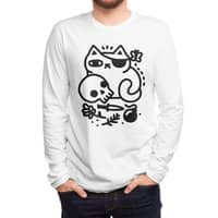 Badass Cat - mens-long-sleeve-tee - small view