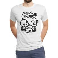 Badass Cat - mens-triblend-tee - small view