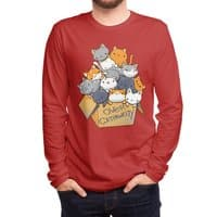 Over Catpawcity - mens-long-sleeve-tee - small view