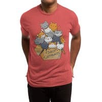 Over Catpawcity - mens-triblend-tee - small view