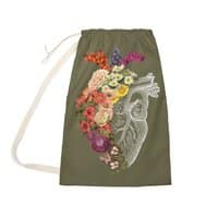 Flower Heart Spring - laundry-bag - small view