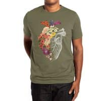 Flower Heart Spring - mens-extra-soft-tee - small view