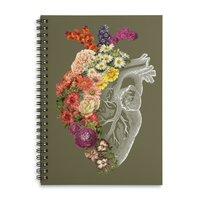 Flower Heart Spring - spiral-notebook - small view