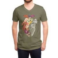 Flower Heart Spring - vneck - small view