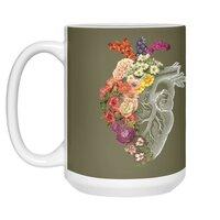 Flower Heart Spring - white-mug - small view