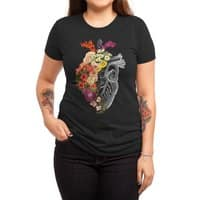 Flower Heart Spring - womens-triblend-tee - small view