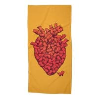 I Love Cat Heart - beach-towel - small view