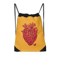 I Love Cat Heart - drawstring-bag - small view