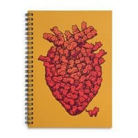 I Love Cat Heart - spiral-notebook - small view