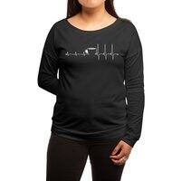 Wakeup - womens-long-sleeve-terry-scoop - small view