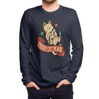 Merry Xmas Cat - mens-long-sleeve-tee - small view
