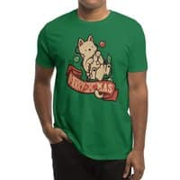 Merry Xmas Cat - mens-regular-tee - small view