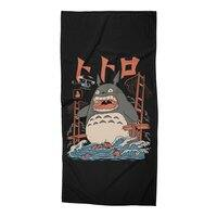 The Neighbor's Attack - beach-towel - small view