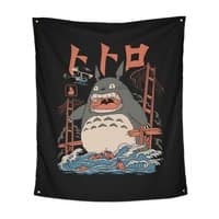 The Neighbor's Attack - indoor-wall-tapestry-vertical - small view