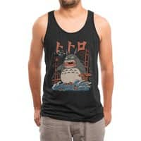 The Neighbor's Attack - mens-triblend-tank - small view