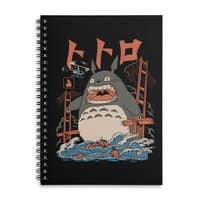 The Neighbor's Attack - spiral-notebook - small view