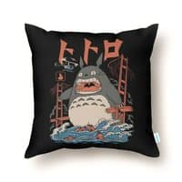 The Neighbor's Attack - throw-pillow - small view