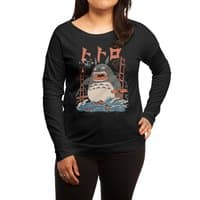 The Neighbor's Attack - womens-long-sleeve-terry-scoop - small view