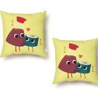 Soy Happy - throw-pillow - small view