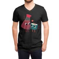 Soy Happy - vneck - small view