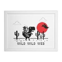 Wild Wild Web - white-horizontal-framed-print - small view
