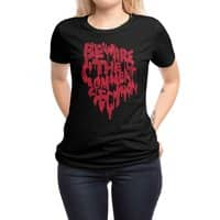 Beware the comment section - womens-regular-tee - small view