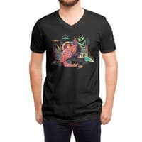 fire - vneck - small view