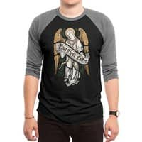 Holy Coffee - triblend-34-sleeve-raglan-tee - small view