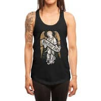 Holy Coffee - womens-racerback-tank - small view