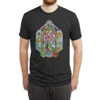 The Divine Light - mens-triblend-tee - small view