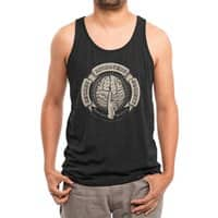 Secret Introvert Society - mens-triblend-tank - small view