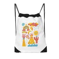 Friends Everywhere! - drawstring-bag - small view
