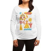 Friends Everywhere! - womens-long-sleeve-terry-scoop - small view