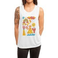 Friends Everywhere! - womens-muscle-tank - small view