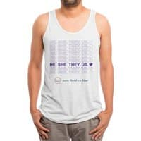 All together - mens-triblend-tank - small view