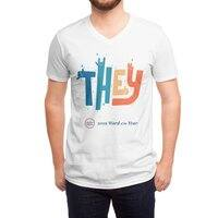 THEY ROCKS - vneck - small view