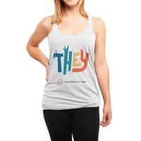 THEY ROCKS - womens-triblend-racerback-tank - small view