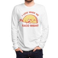 TACO NIGHT - mens-long-sleeve-tee - small view