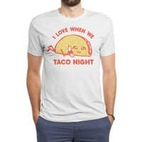 TACO NIGHT - mens-triblend-tee - small view