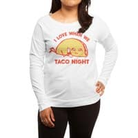 TACO NIGHT - womens-long-sleeve-terry-scoop - small view