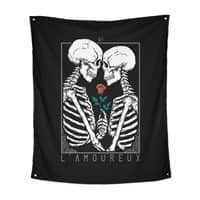 VI The Lovers - indoor-wall-tapestry-vertical - small view