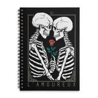 VI The Lovers - spiral-notebook - small view